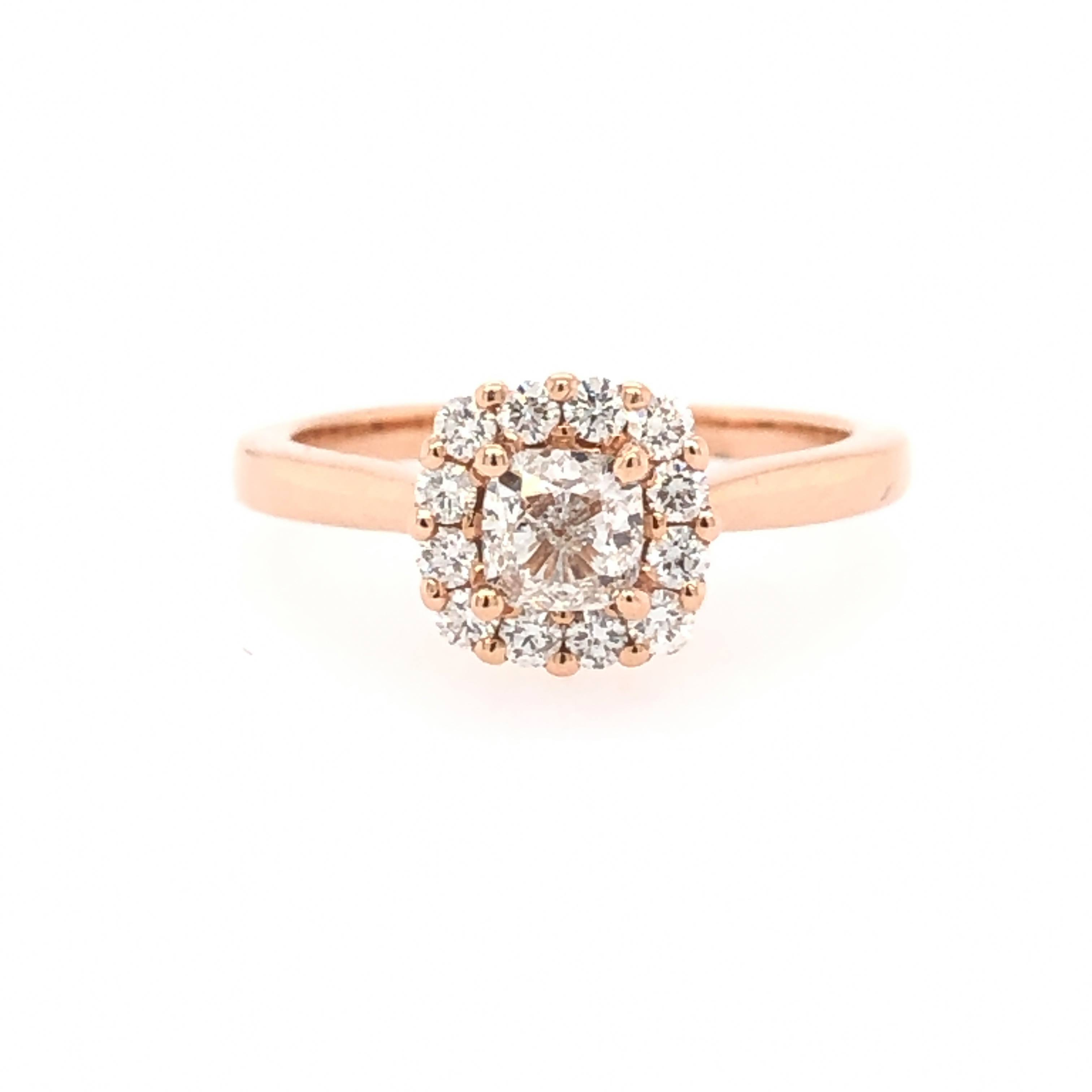 Engagement Ring by Color Merchants